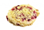Red currant & crumble pastry